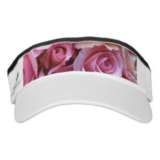 Roses arranged visor