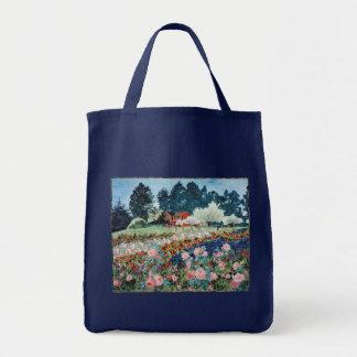 Roses at the Farm tote bag