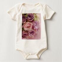 Roses Baby Bodysuit