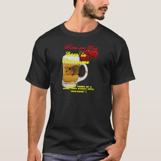 Roses-Beer-Raw T-Shirt