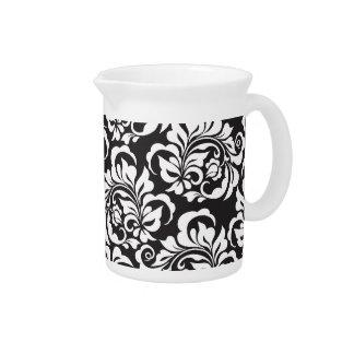 roses beverage pitcher