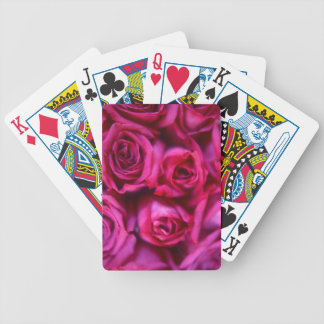 Roses Bicycle Playing Cards