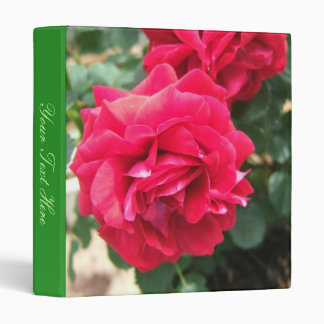 Roses Binder w/ your text