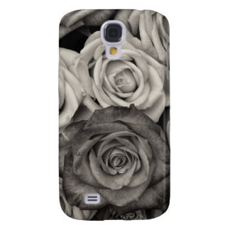 ROSES, Black and White Photo Galaxy S4 Case