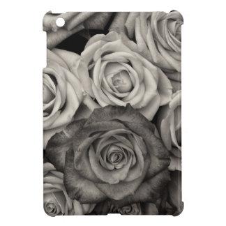ROSES, Black and White Photo iPad Mini Cover