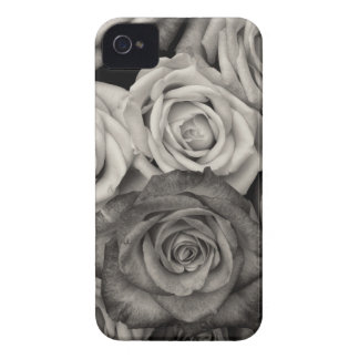 ROSES, Black and White Photo iPhone 4 Case-Mate Case