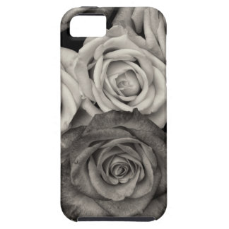 ROSES, Black and White Photo iPhone SE/5/5s Case
