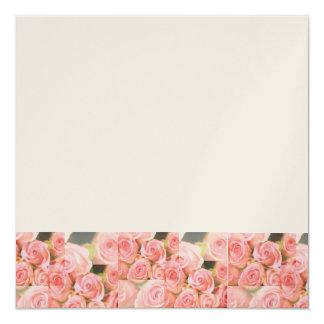Roses Blank Template Invitation