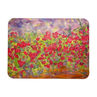 roses blooming magnet