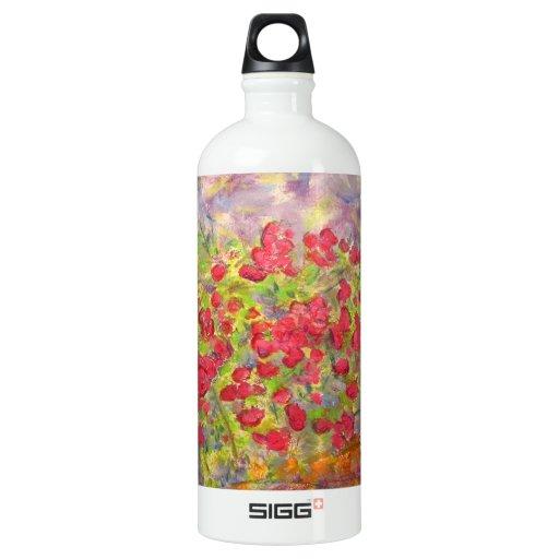 roses blooming SIGG traveler 1.0L water bottle