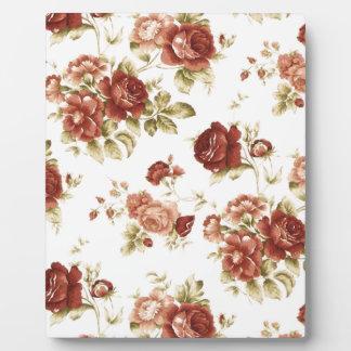 Roses bordeaux burgendy background plaque