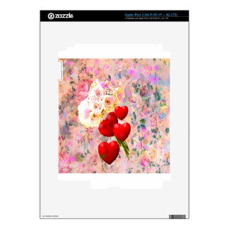 Roses bouquet decal for iPad 3