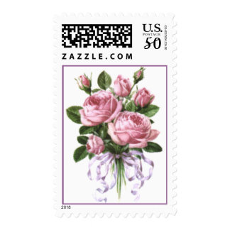Roses bouquet postage