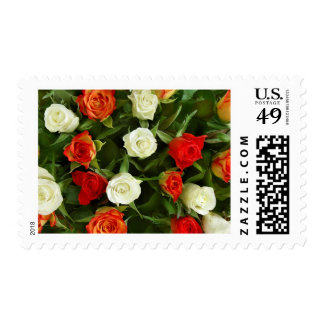 Roses Bouquet stamps