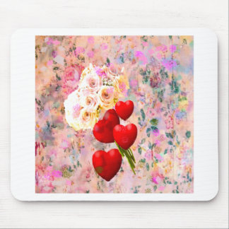 Roses bouquet to you with all my love mouse pad