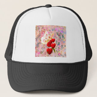 Roses bouquet to you with all my love trucker hat