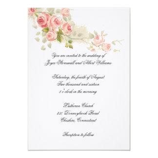 Roses Branch Wedding Invitation