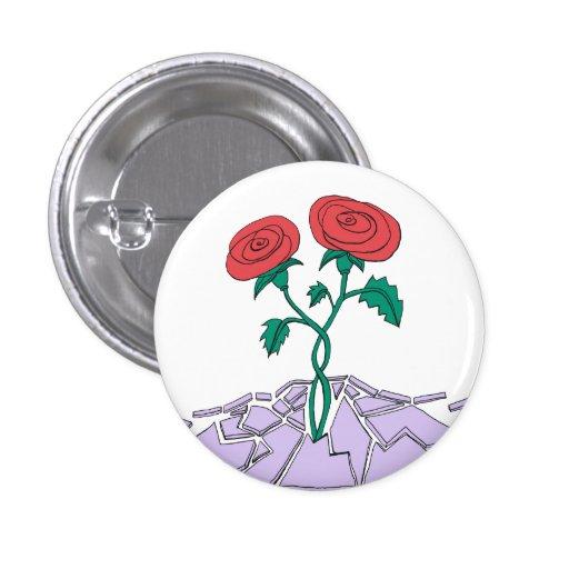 Roses Break Babylon Sml Button