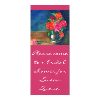 Roses Bridal Shower Invitation