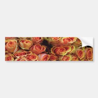 Roses Car Bumper Sticker