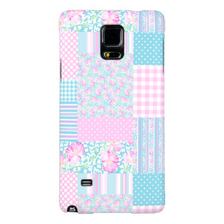 Roses Butterflies Patchwork Samsung Note 4 Case