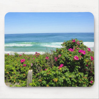 Roses by the Sea Mouse Pad