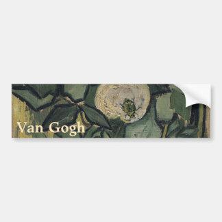 Roses by Vincent Van Gogh Bumper Sticker