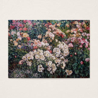 Roses Calendar Business Card