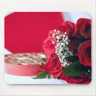 Roses & Candies Mouse Pad
