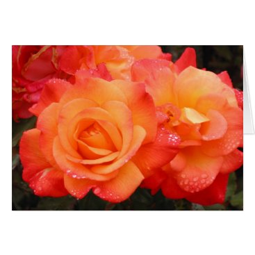 Beach Themed Roses Cannon Beach Card