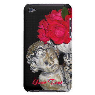 Roses Cherub Statue iPod Touch 4g Case iPod Touch Case-Mate Case
