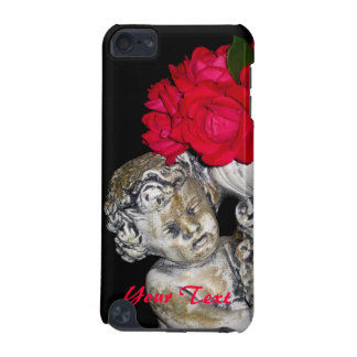 Roses Cherub Statue iPod Touch 5g Case iPod Touch 5G Covers