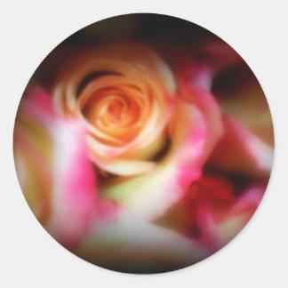 Roses Classic Round Sticker