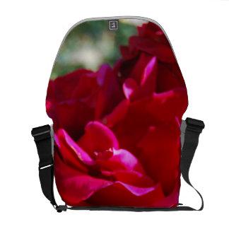 Roses Close up Messenger Bag