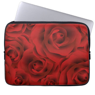 Roses Computer Sleeve