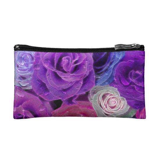 Roses Cosmetic Bag