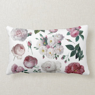 Roses cottage chic cushion