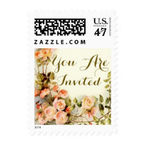 Roses, cute floral postage