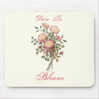Roses Dare To Bloom Mouse Pad