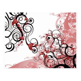 """""""Roses"""" Deco Art Postcard"""