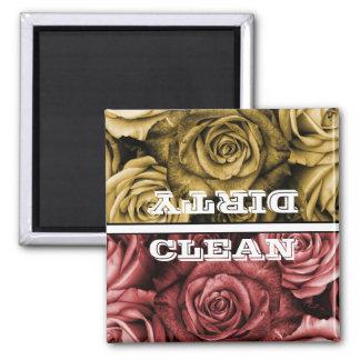 Roses Dishwasher Magnet
