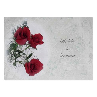 Roses Dream Wedding Thank You profilecard