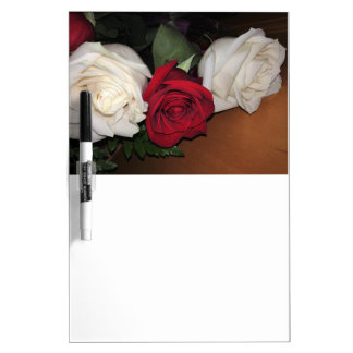Roses Dry Erase Board