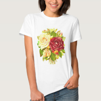Roses Floral Composition Shirt