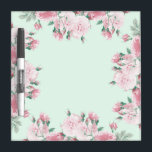 """Roses floral dry erase board shabby chic<br><div class=""""desc"""">Roses floral dry erase board shabby chic</div>"""