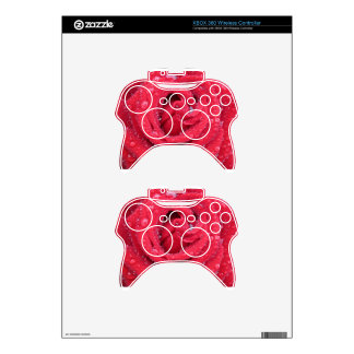 roses flowers blossoms petals water droplets xbox 360 controller skin