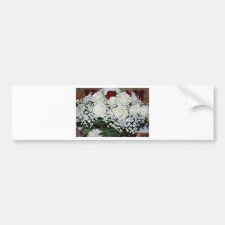 Roses Flowers Vines Peace Love Destiny Car Bumper Sticker