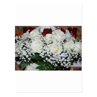 Roses Flowers Vines Peace Love Destiny Postcard