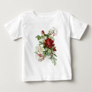 Roses flowers vintage rose tshirts