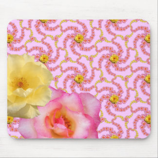 Roses for Amina Sm Any Color Mouse Pad
